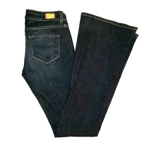 Paige Low Rise Bell Canyon Jeans Size 26